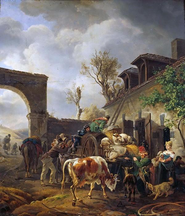 Marauding Cossacks. Peter Von Hess