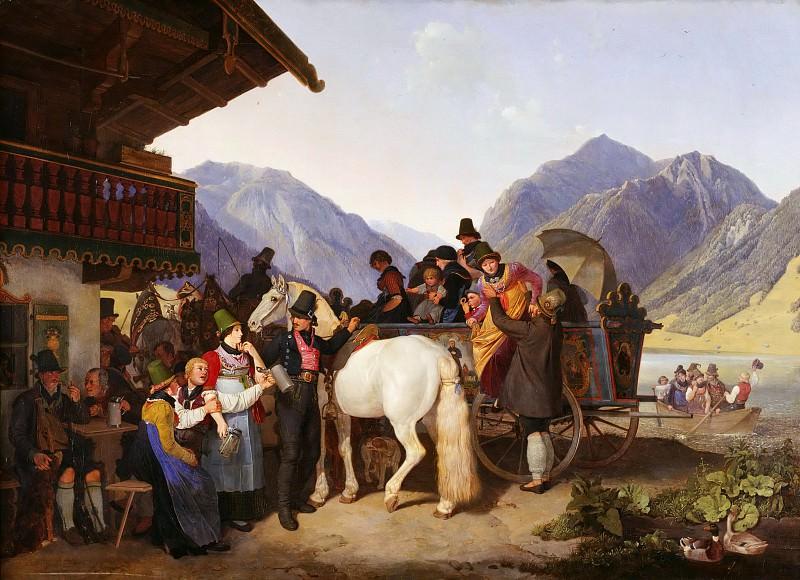 День святого Леонарда в Фишхаузене-на-Шлирзе в Баварии. Петер фон Хесс