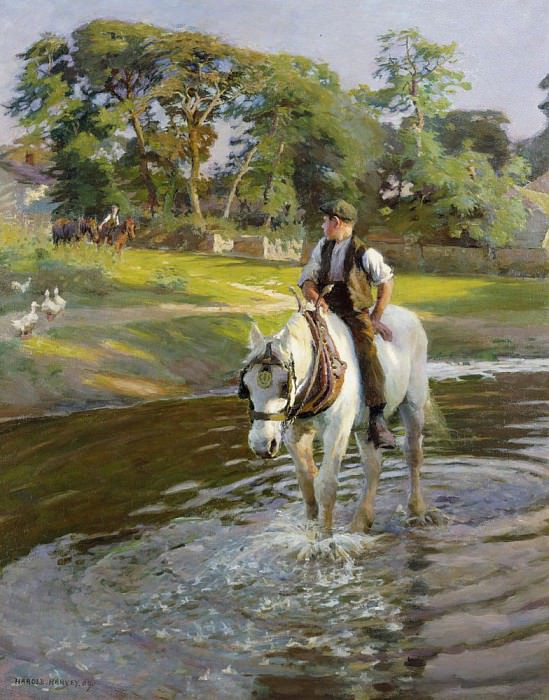 The Close of a Summers Day. Harold Harvey