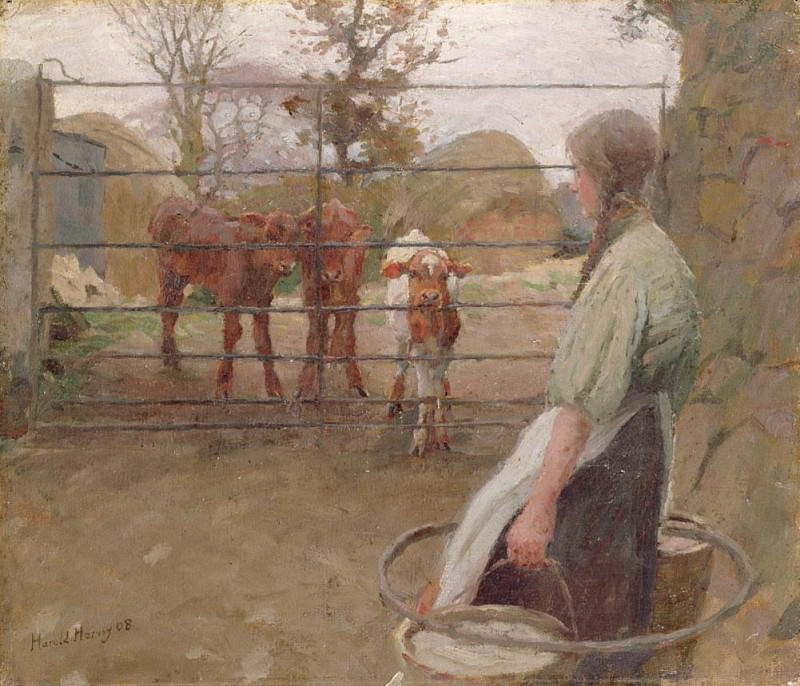 Feeding Time. Harold Harvey