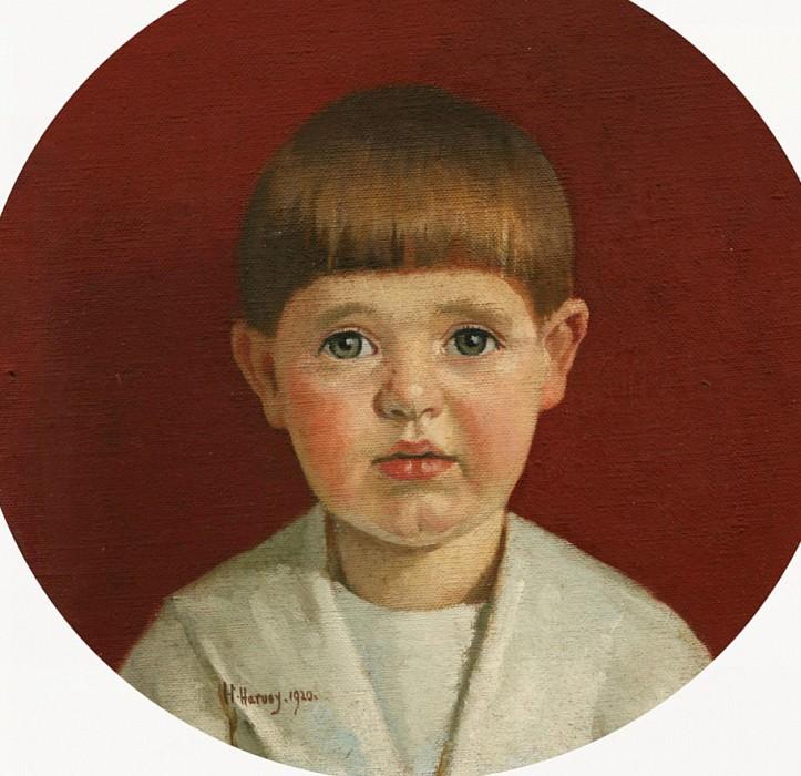 Portrait of James Jewill Hill Jr. Harold Harvey