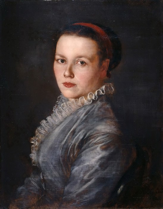 Frau Elise Greinwald. Karl Haider