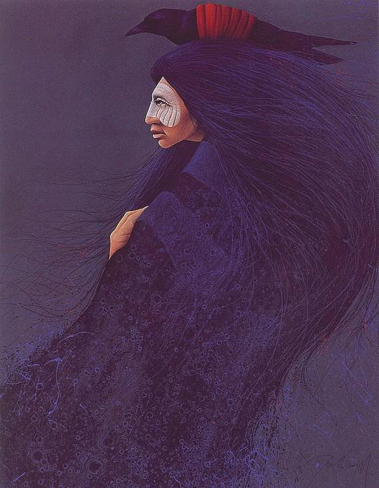 Blue Raven. Frank Howell