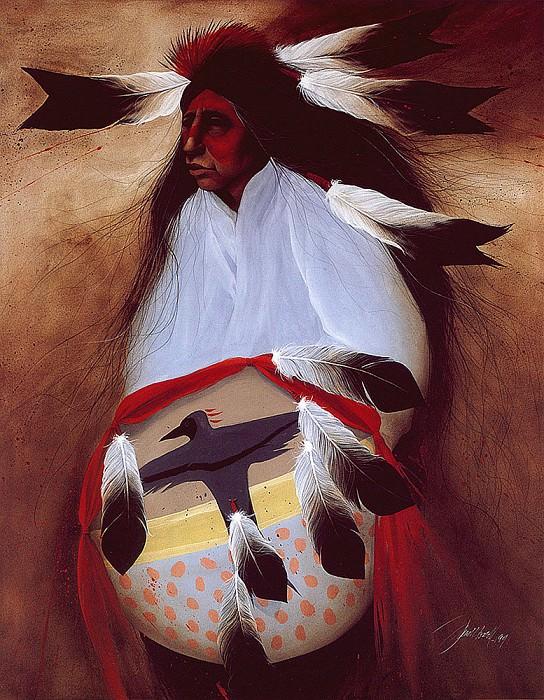 Lakota Crow Owner. Frank Howell