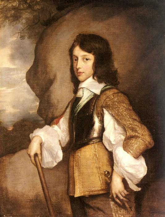 Portrait Of Henry Stuart Duke Of Gloucester. Adriaen Hanneman