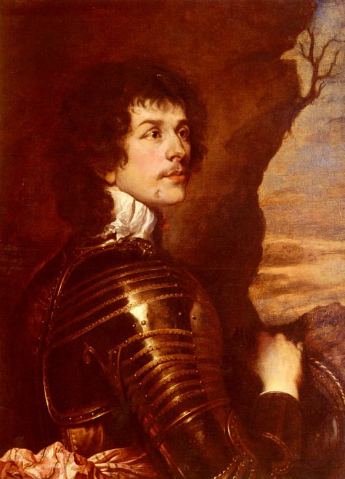 Portrait Of Charles Stanley 8th Earl Of Derby. Adriaen Hanneman