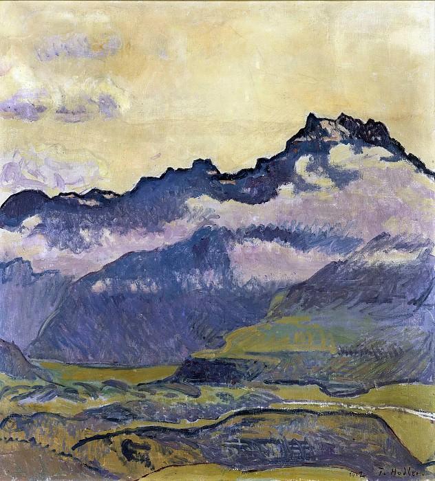 Горы Дентс-дю-Миди. Фердинанд Ходлер