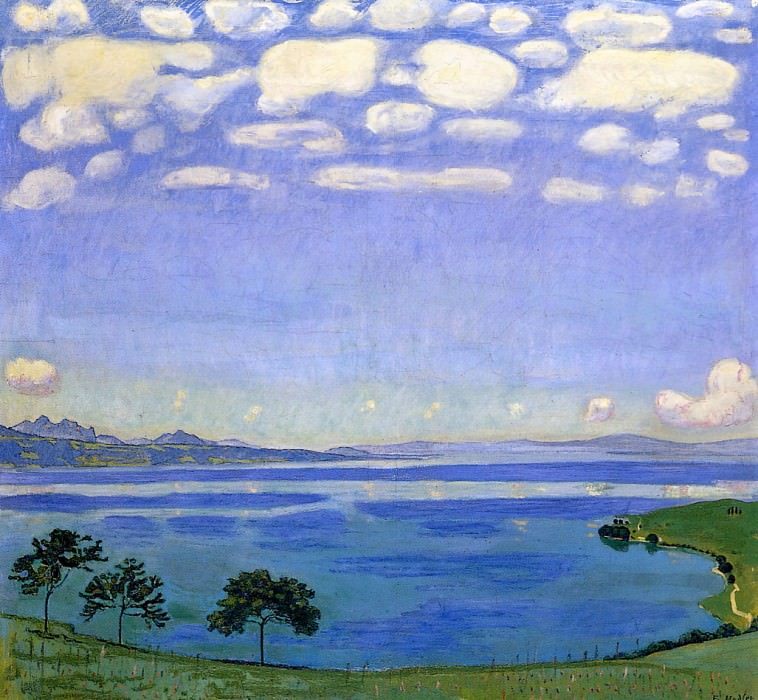 Lake of Geneve. Ferdinand Hodler