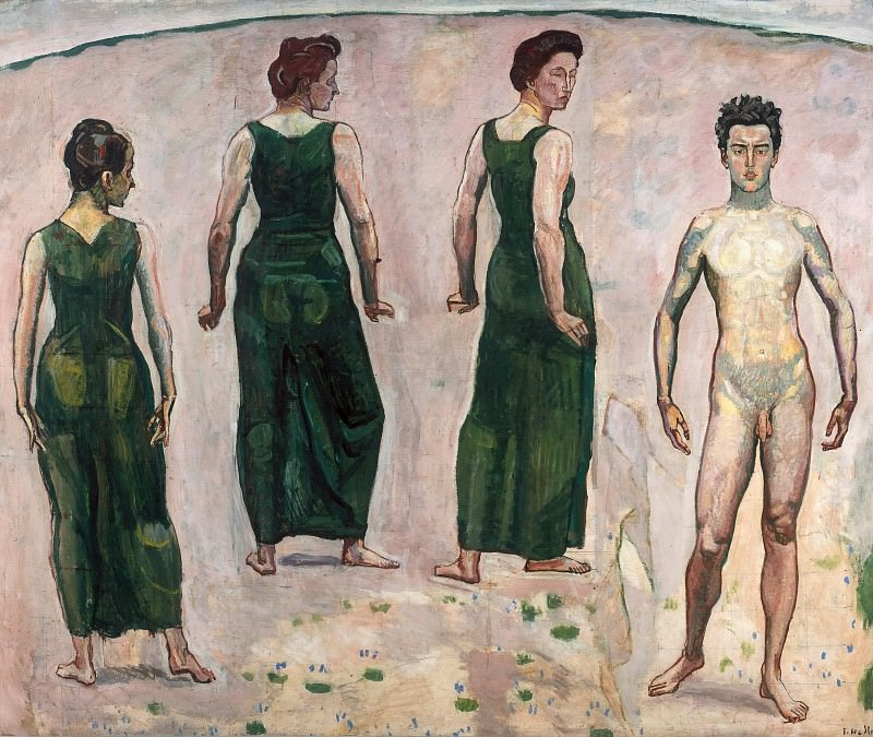 Youth from admired woman II. Ferdinand Hodler