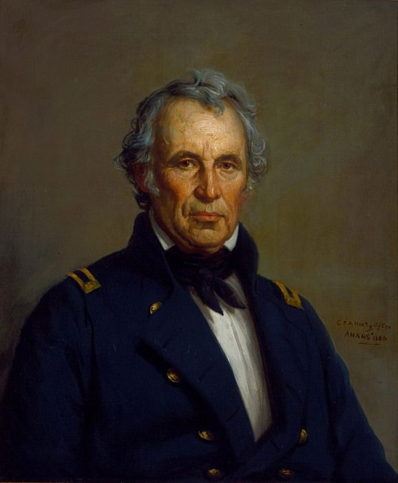 Zachary Taylor. George Peter Alexander Healy