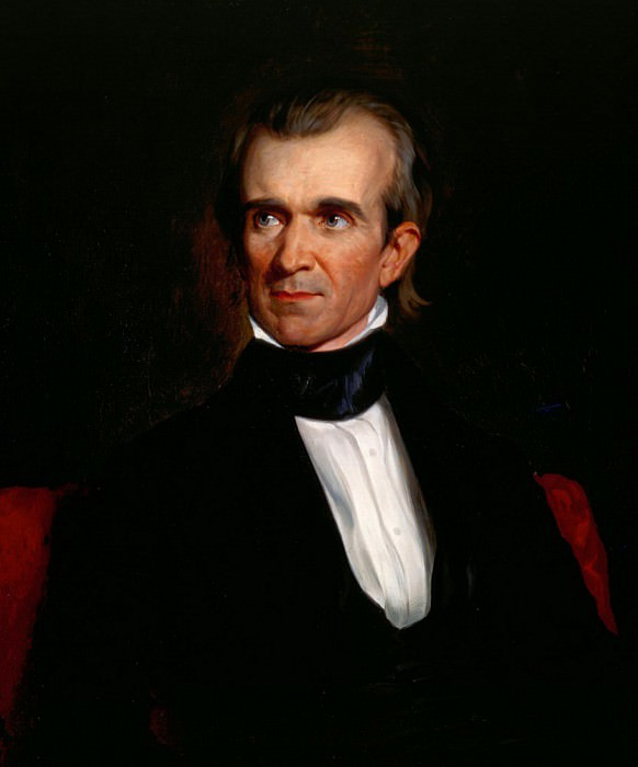 James K. Polk. George Peter Alexander Healy