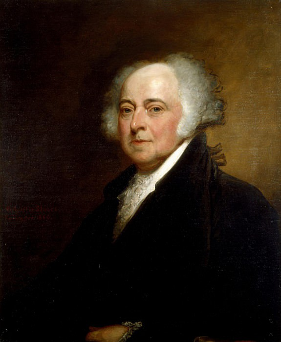 John Adams. George Peter Alexander Healy