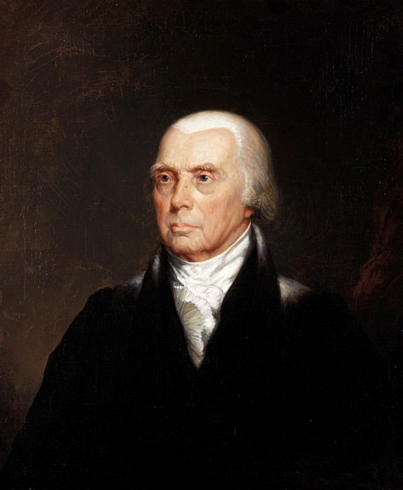 James Madison. George Peter Alexander Healy