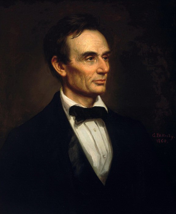 Abraham Lincoln. George Peter Alexander Healy