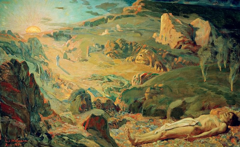Valley of Secrets. Ludwig Hofmann