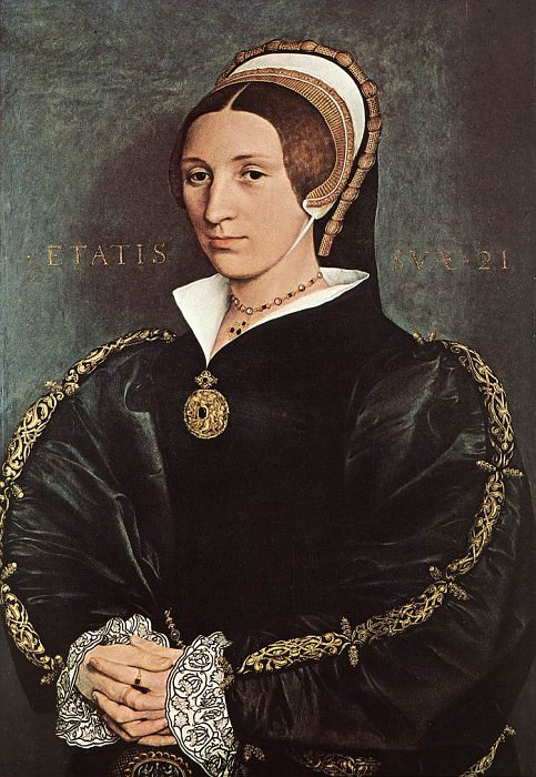 Portrait of Catherine Howard. Hans The Younger Holbein