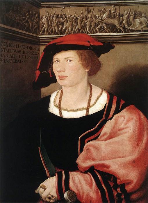 Portrait of Benedikt von Hertenstein. Hans The Younger Holbein