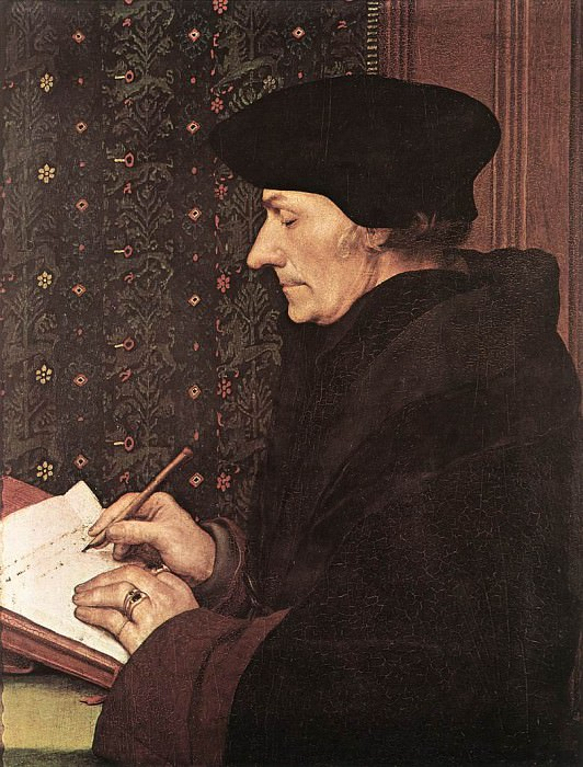 the Younger Erasmus. Hans The Younger Holbein