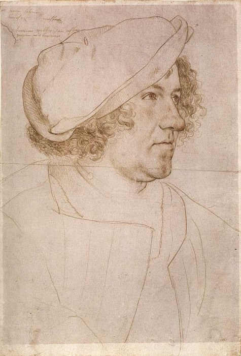 Portrait of Jakob Meyer zum Hasen. Hans The Younger Holbein