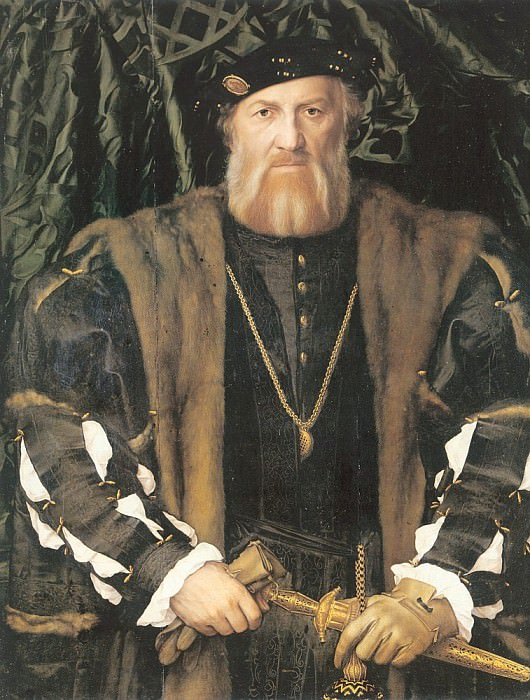1534-35 Portrait of Charles de Solier, Lord of Morette. Hans The Younger Holbein