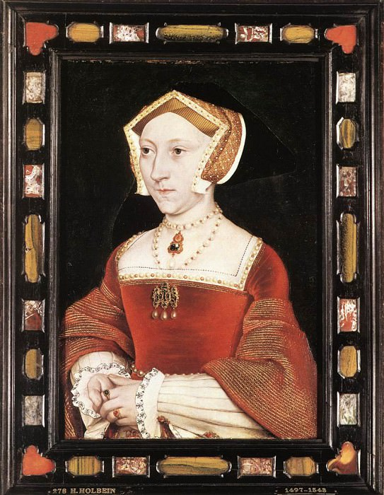 Holbien the Younger Portrait of Jane Seymour. Hans The Younger Holbein