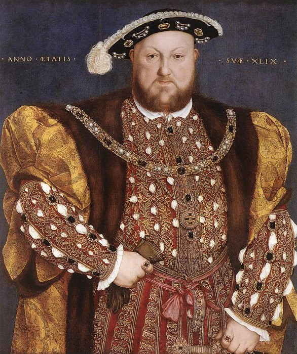 1540 Portrait of Henry VIII. Hans The Younger Holbein