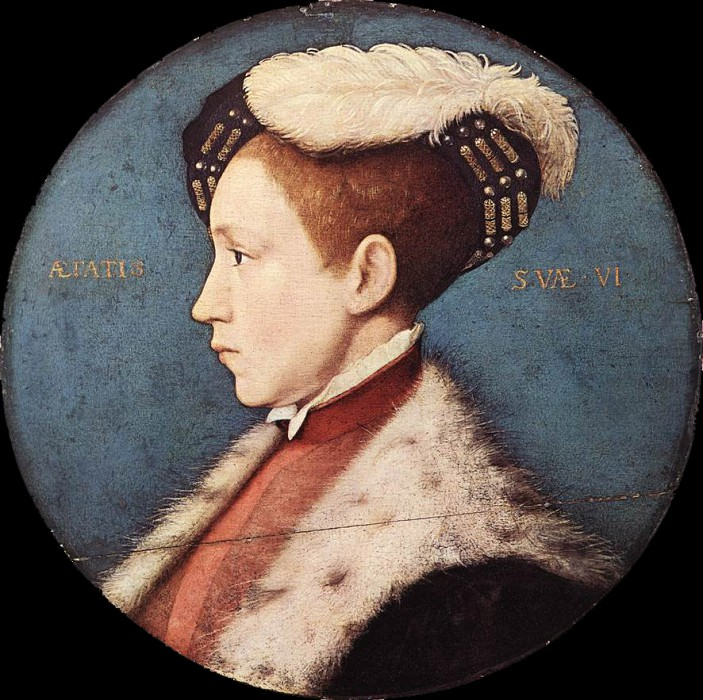 Edward Prince of Wales. Hans The Younger Holbein