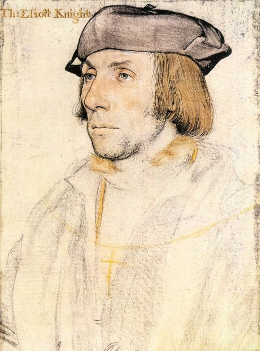 Sir Thomas Elyot. Hans The Younger Holbein