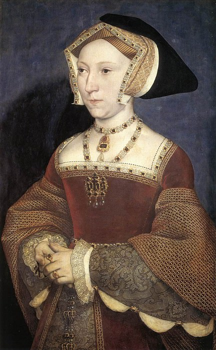Jane Seymour Queen of England. Hans The Younger Holbein