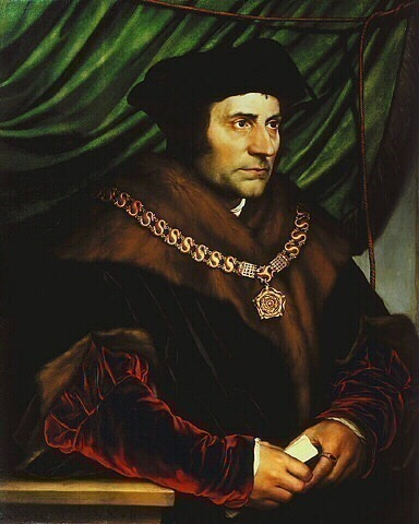 HOLBEIN SIR THOMAS MORE, FRICK COLLECTION. Hans The Younger Holbein