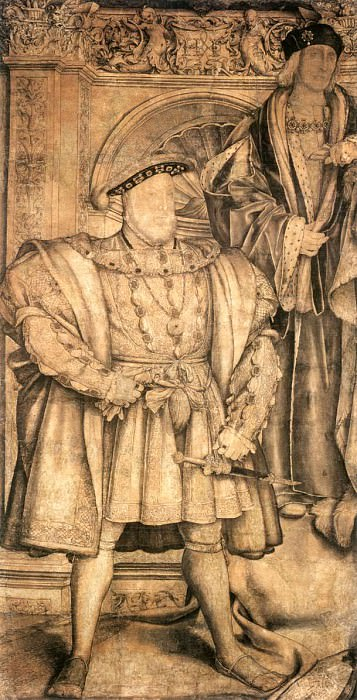 Holbien the Younger Henry VIII and Henry VII. Hans The Younger Holbein