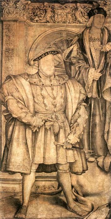 Holbien the Younger Henry VIII and Henry VII. Ганс Младший Гольбейн