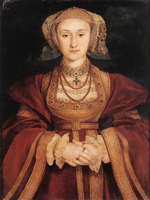 Holbien the Younger Portrait of Anne of Cleves. Hans The Younger Holbein