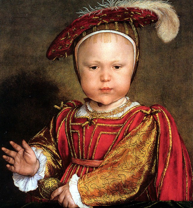 Y03 Hans Holbein the Younger Edward VI as a Child sqs. Hans The Younger Holbein