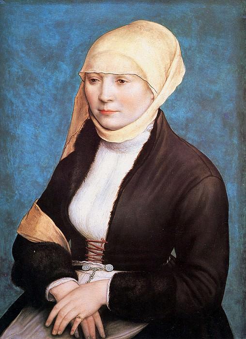 Портрет молодой женщины. Ганс Младший Гольбейн