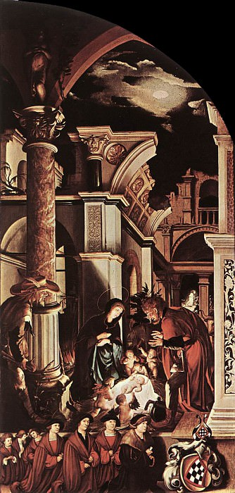 The Oberried Altarpiece (right wing). Hans The Younger Holbein