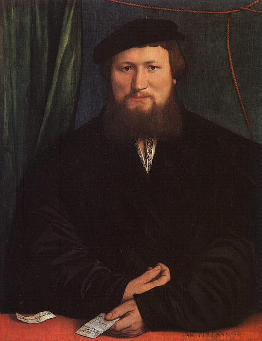 Dierick Berck, 1536, Metropolitan Museum of Art, New. Hans The Younger Holbein