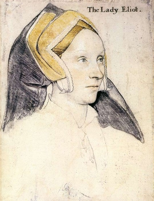 Lady Elyot. Hans The Younger Holbein