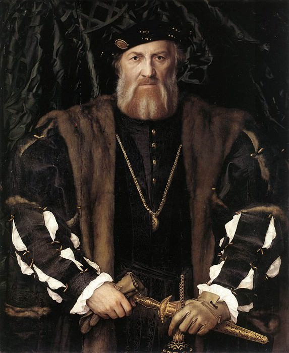 Holbien the Younger Portrait of Charles de Solier Lord of Morette. Hans The Younger Holbein