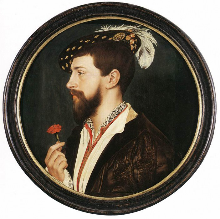 Portrait of Simon George. Hans The Younger Holbein