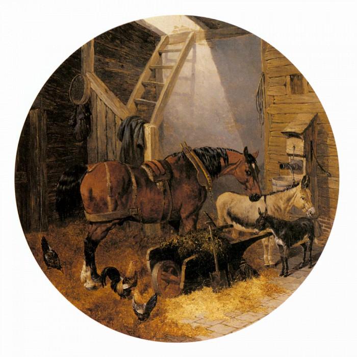 The Farmyard. John Frederick Herring