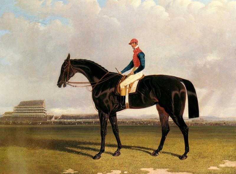 Lord Chesterfields Industry With William Scott Up At Epsom. John Frederick Herring