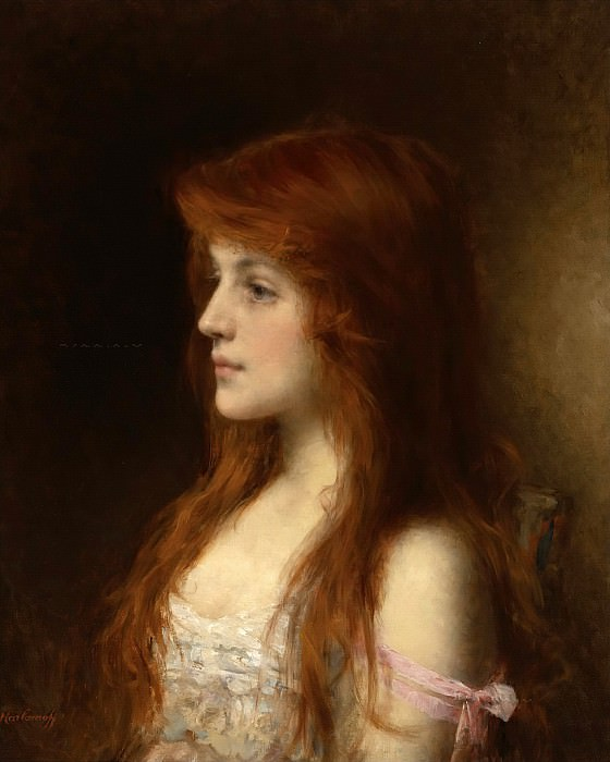 Sweet thoughts. Alexei Alexeivich Harlamoff