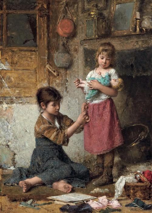 The Little Mother. Alexei Alexeivich Harlamoff