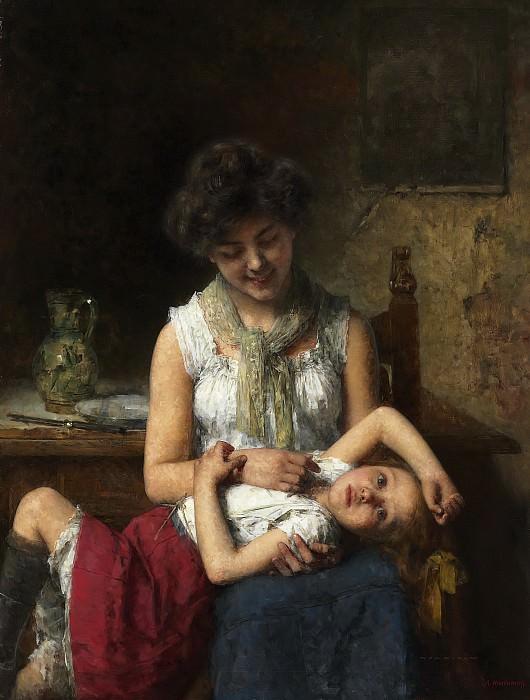Капризный ребенок. Алексей Алексеевич Харламов