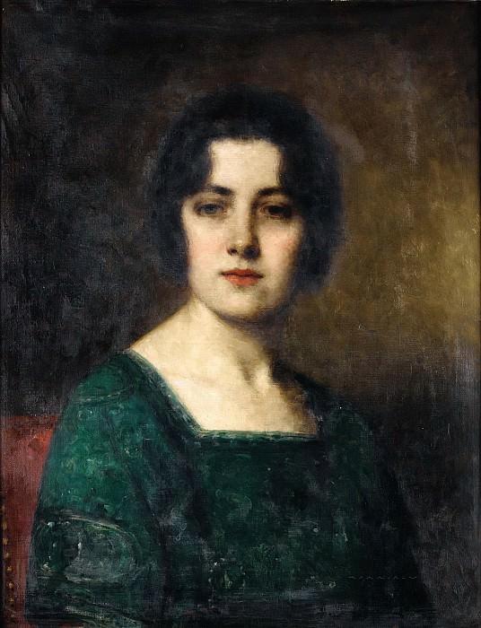 Portrait Of Madame Ferette. Alexei Alexeivich Harlamoff
