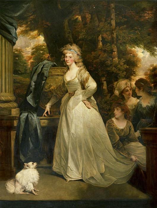 Portrait of HRH Frederica Charlotte Ulrica Princess Royal of Prussia and Duchess of York. John Hoppner