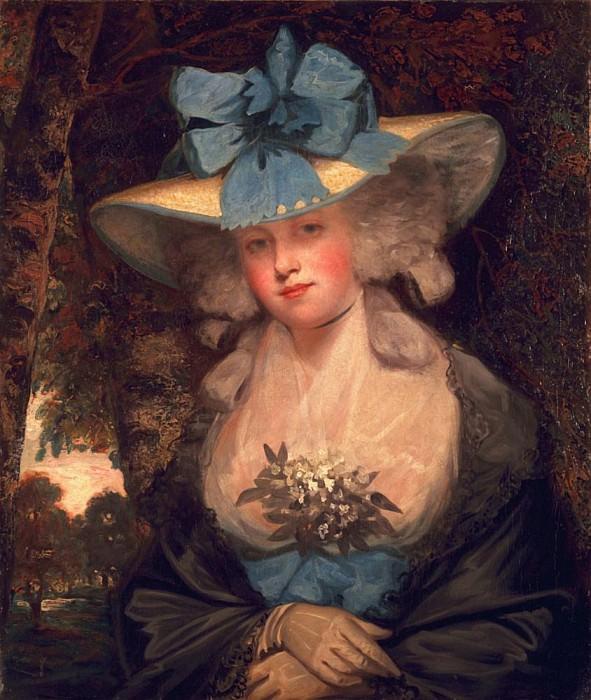 Isabella Seymour Conway, Viscountess Beauchamp, later Marchioness of Hertford. John Hoppner