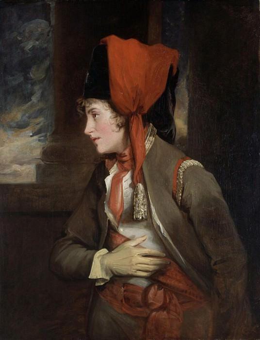 Mrs. Jordan as Viola in Twelfth Night. John Hoppner
