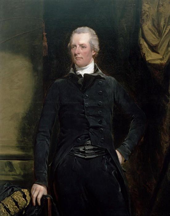 Portrait of William Pitt the Younger (1759-1806). John Hoppner